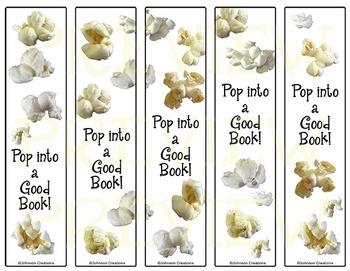 Popcorn Bookmarks
