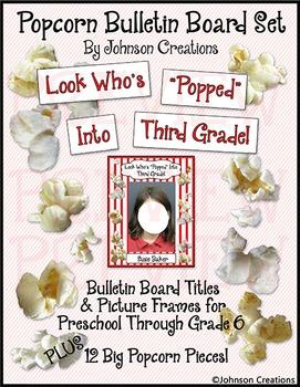 Popcorn Bulletin Board Set