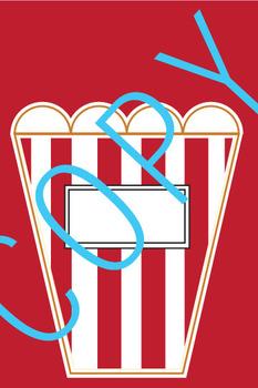 Popcorn Bulletin Board and/or Classroom Theme