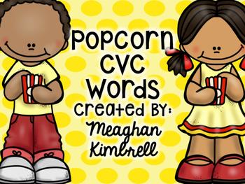 Popcorn CVC Words