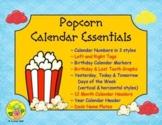 Popcorn Calendar Essentials
