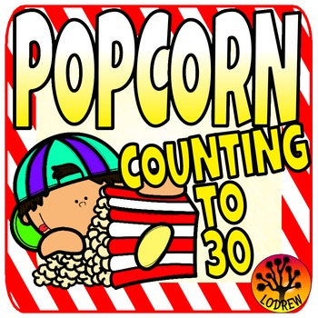 Popcorn Centers Activities Counting To 30 Carnival Circus