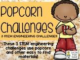 Popcorn Challenges - STEM Engineering Challenges, Pack of 3
