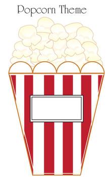 Popcorn Classroom Theme