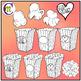 Popcorn Clip Art   Valentine's Day Popcorn Clipart