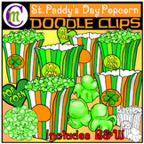 Popcorn Clip Art   St. Patrick's Day Popcorn Clipart