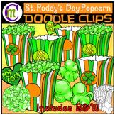 Popcorn Clip Art | St. Patrick's Day Clipart