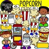 Popcorn Clipart {Creative Clips Clipart}