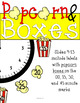 Popcorn Clock Labels: Perfect for Your Hollywood Movie Classroom Theme Decor