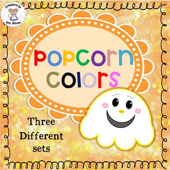 Colors & Color Words - Popcorn