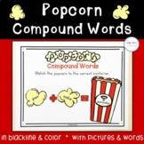 Popcorn Compound Words Practice