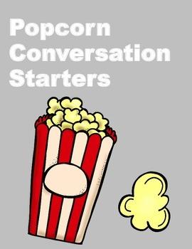 Popcorn Conversation Starters
