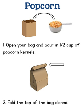 Popcorn {Cooking In The Classroom}