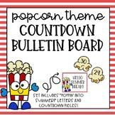 Popcorn Countdown Bulletin Board