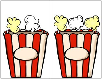 Popcorn Counting Games 0-20
