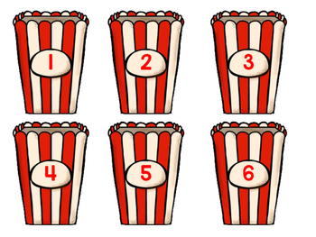Popcorn Counting game!