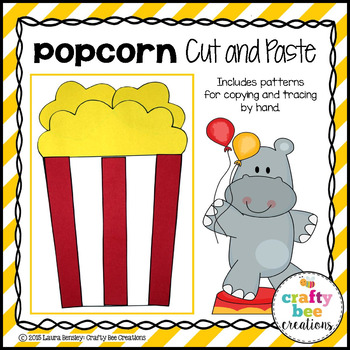 Popcorn Cut and Paste