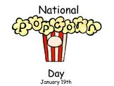 Popcorn Day - January 19th