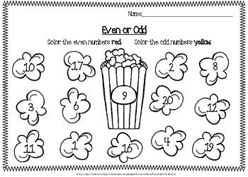 Popcorn Even or Odd