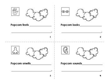 Popcorn Five Senses Book