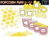 Popcorn Fun! Clip Art Set