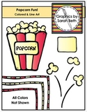 Popcorn Fun - Popcorn Clipart Graphics and Line Art