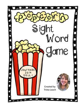 Popcorn Game- Journey's Unit 1 HFW