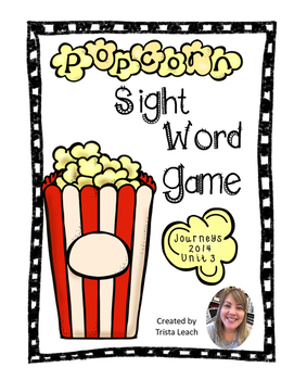 Popcorn Game- Journey's Unit 3 HFW