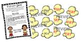 Popcorn Game- Journeys Unit 1-6 (Grade 1)