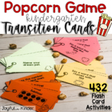 Popcorn Game {Transition Cards}