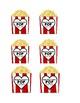 Popcorn Gift Test Labels