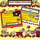 Popcorn Guidance Review Game: Koosh Ball SMARTboard lesson