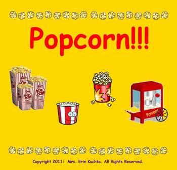 Popcorn, In The Pot! (A Jump Rope Chant) PDF Edition