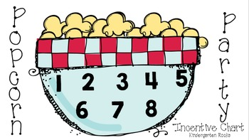 Popcorn Party Incentive Chart