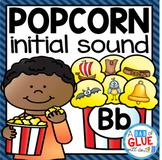Popcorn Initial Sound Match-Up