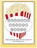 Popcorn Letter Bingo