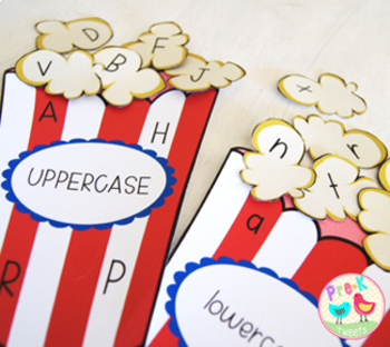 Popcorn Letter Games