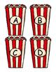 Popcorn Letter Matching