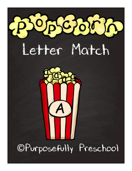 Popcorn Letter Matching