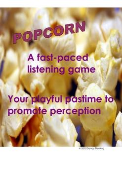 Popcorn Listening Game, (v.1)