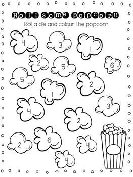 Popcorn Math 1-20