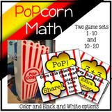 Popcorn Math Addition Game