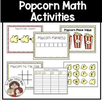 Popcorn Math Activities