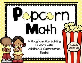 Popcorn Math: Addition & Subtraction Fact Fluency