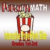 Popcorn Math PowerPoint Animation
