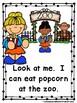 Popcorn Mega Bundle (Readers, Lap Books, Picture/Vocab. Cards, Graph Activity)