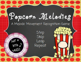 Popcorn Melodies - An interactive game for Step, Skip, Lea