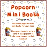 Writing Popcorn Words FREEBIE