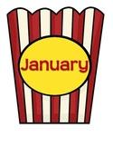 Hollywood Theme Birthday Months