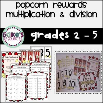 Popcorn Multiplication & Division
